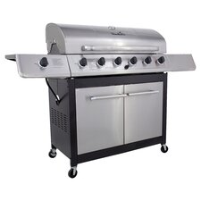 Classic Gas Grill in Black & Silver