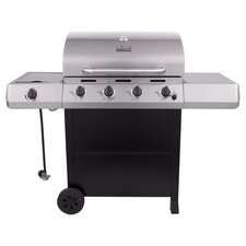 Classic 4 Burner Gas Grill in Black