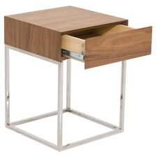 Chio End Table in Brown
