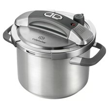 Calphalon 6 Qt. Pressure Cooker in Stainless Steel