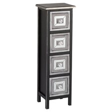 Woburn 4 Drawer Chest in Black