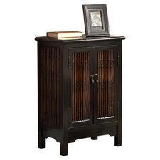 Bombay Cabinet in Distressed Black