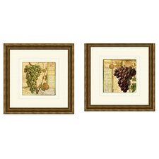 Wine Grapes Framed Art