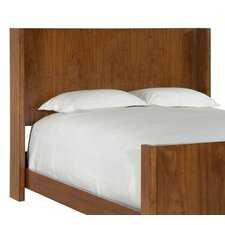 Suede Panel Headboard in Brown