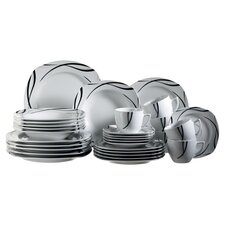 Oslo 30 Piece Dinnerware Set
