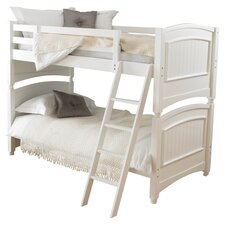 Colonial Single Convertible Bunk Bed in White