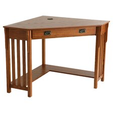 Westbriar Corner Writing Desk in Oak