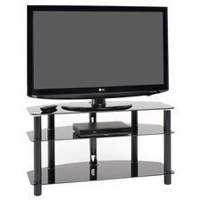 Dais TV Stand in Black