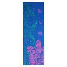 Technicolor Turtle Yoga Mat