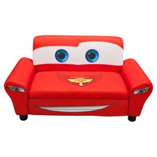 Disney Pixar Cars Kids Storage Sofa in Red