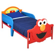Sesame Street Elmo Convertible Toddler Bed in Red
