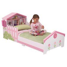 Dollhouse Toddler Bed in Pink