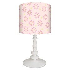 Starburst Table Lamp in White