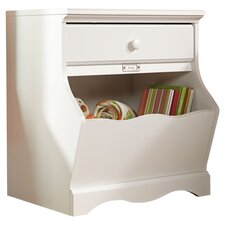 Pogo Nightstand in White