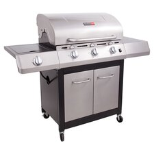 Performance Gas Grill in Black & Silver