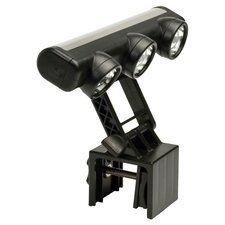Steven Raichlen 3-Head Led Grill Light in Black