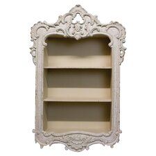 French Country Wall Shelf in Cream
