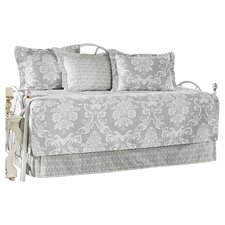 Venetia Gray 5 Piece Quilted Twin Daybed Set