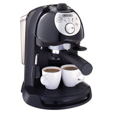 Pump Driven Espresso & Cappuccino Maker in Black