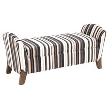 Northlake Storage Bench in Cappuccino