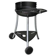 Tiny Fonte 44 Charcoal Barbecue in Black