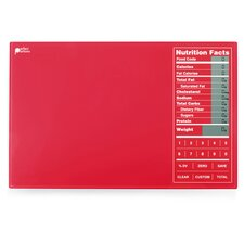 Perfect Portions Digital Food Scale in Red