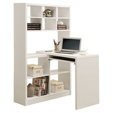 Pacific Corner Desk in White