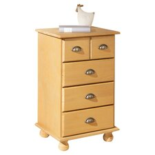 Lisi 5 Drawer Chest in Sahara
