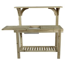 Daisy Potting Bench in Natural