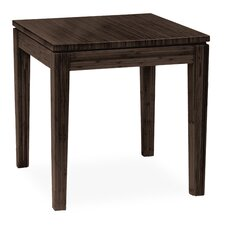 Brazil Bamboo End Table in Brown