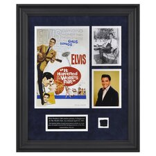 Elvis Presley It Happened At The World's Fair Framed Wall Art