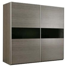 Cellini 2 Door Wardrobe in Grey Oak