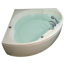 "Cleopatra 61"" Bathtub in White"