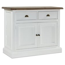 Lulworth Sideboard I in White & Pine