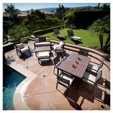 Zen 14 Piece Seating Group in Mocha