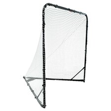 Folding Lacrosse Goal Net in Black