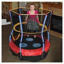 "48"" Zoo Adventure Bouncer Trampoline & Enclosure"