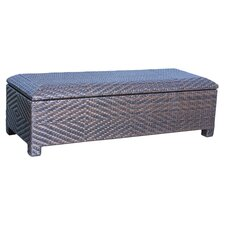 EnviroWood Storage Bench in Brown