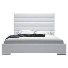 Prince Platform Bed in White