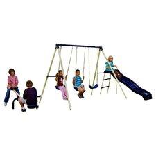Triple Fun Swing Set in Beige