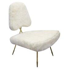 Jonathan Adler Maxime Slipper Chair in White