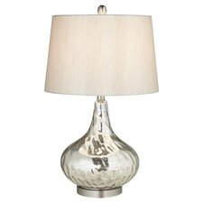 Mercuro Table Lamp in Silver