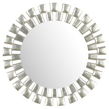 Gilbert Mirror in Silver