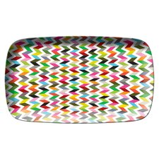 Ziggy Rectangular Platter by Jackie Shapiro