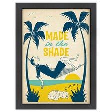 Coastal Made in the Shade Framed Print Art
