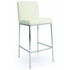 "Emilia 26"" Counter Stool in Ivory"