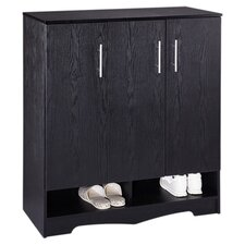 Sadie Modern Shoe Storage Unit in Black