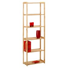 Gina Tall Bookcase in Natural