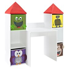 Kids' Playtime Desk in White