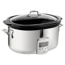 All-Clad 6.5 Qt. Slow Cooker in Stainless Steel